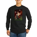 Angel & Newfoundland Long Sleeve Dark T-Shirt