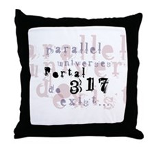 Portal 317 Throw Pillow