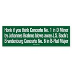 Brahms & Bach sticker