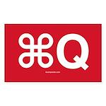 Command-Q sticker