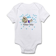 Water Baby BLUE Baby/Toddler Bodysuit