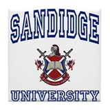 SANDIDGE University Tile Coaster
