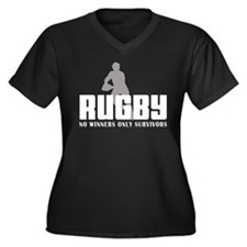 rugby12colored Plus Size T-Shirt