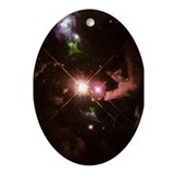 Herbig Haro 32 Christmas Tree Oval Ornament