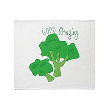 Good Grazing Throw Blanket