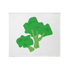 Broccoli Throw Blanket