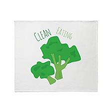 Clean Eating Throw Blanket