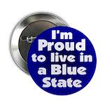 Massachusetts Blue State Button