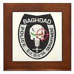 Bagdad Police Sniper Framed Tile