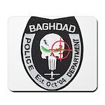 Bagdad Police Sniper Mousepad