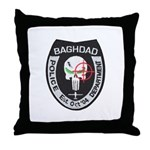 Bagdad Police Sniper Throw Pillow