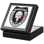 Bagdad Police Sniper Keepsake Box