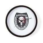 Bagdad Police Sniper Wall Clock