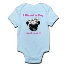 I Kissed A Pug Body Suit