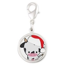 Holiday Cow Charms
