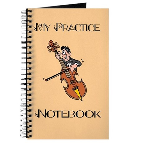 Cello Music Practice Notebook
