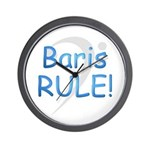 Baris RULE! Wall Clock