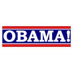 Obama! (bumper sticker)