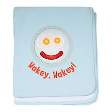 Wakey Wakey baby blanket
