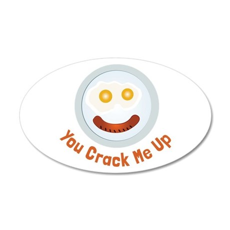 Crack  Me Up Wall Decal