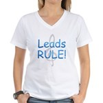 Leads Rule! Women's V-Neck T-Shirt