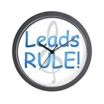 Leads Rule! Wall Clock