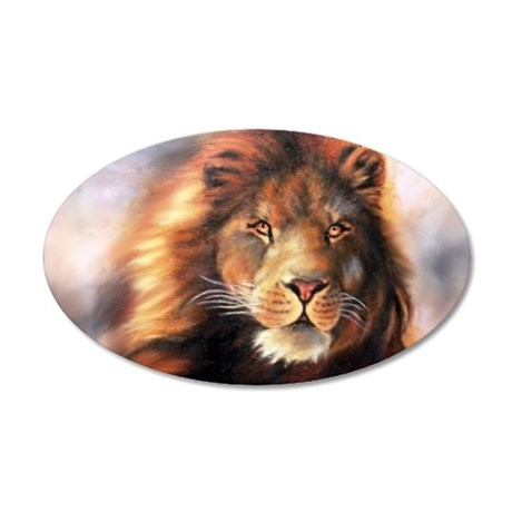 Lion Forever Wind Wall Decal