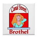 Canal Street Brothel Tile Coaster
