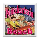 Pontchartrain beach Drink Coasters