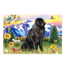 Newfie in Mt. Country Postcards (Package of 8)