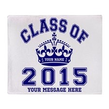 Class Of 2015 Rules Throw Blanket