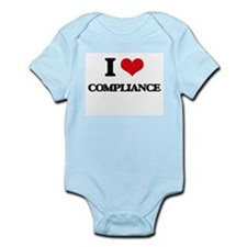 I Love Compliance Body Suit