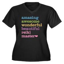 Reiki Master Plus Size T-Shirt
