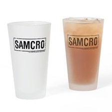 SAMCRO Drinking Glass