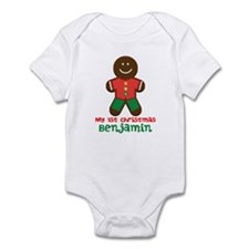 My 1st Christmas Gingerbread Man Body Suit