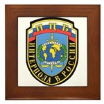 Interpol Russian Section Framed Tile