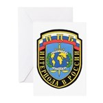 Interpol Russian Section Greeting Cards (Package o