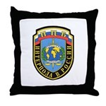 Interpol Russian Section Throw Pillow