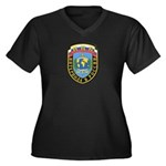 Interpol Russian Section Women's Plus Size V-Neck
