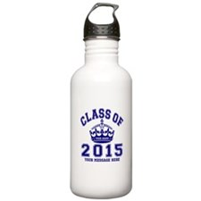 Class Of 2015 Rules Water Bottle