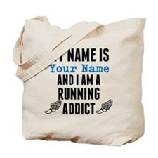 Running Addict Tote Bag