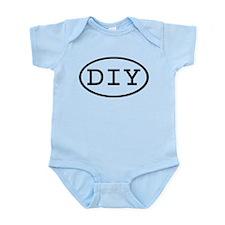 DIY Oval Infant Bodysuit
