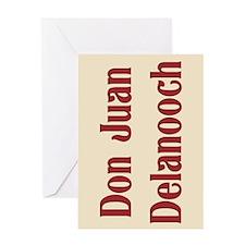 JAYSILENTBOB DON JUAN DELANOOCH Greeting Card