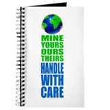 Earth - Handle With Care Journal