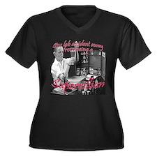 supervillianPNG.png Plus Size T-Shirt