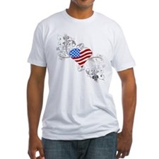 Independence Day Heart Shirt