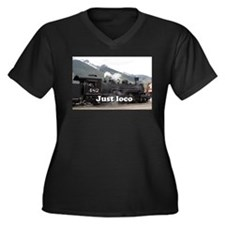 Just loco: steam train Colorado, Plus Size T-Shirt