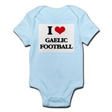 I Love Gaelic Football Body Suit