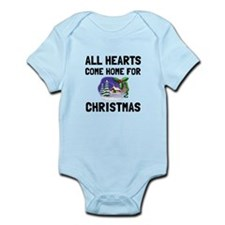 Hearts Come Home For Christmas Body Suit