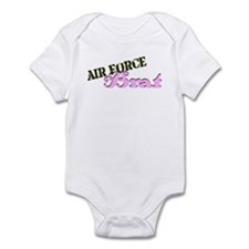 AF Brat pink/brown Infant Bodysuit